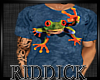 *R* Bursting out frog