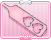 ♥Pink Heart Paddle
