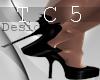 Devilish heels black