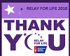 RELAY FOR LIFE BLANKET