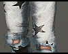 Stars Ripped Pants