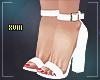 ! Josue Heels White