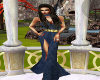 Upscale Navy Gown