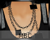 MBC|Necklace Sq Chain