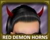 Red Demon Horns
