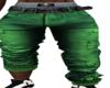 Leg Up Green Jeans