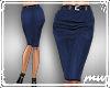 !Pencil Skirt Navy blue