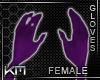 +KM+ Gloves Prpl