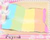 [F] Rainbow Cudle Pillow