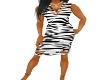 ZebraSwirl Dress