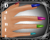 [MB] Multicolored Nails