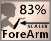 Scale ForeArm 83% F A
