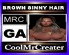 BROWN SINNY HAIR