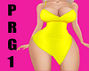 Bimbo Dress PRG1 Yellow