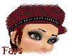 (F)Red Paula w/Hat