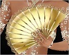 Gold Fan With POSES