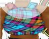 [T3] plaid backpack