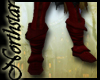 ~NS~ Warriors red boots