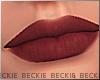 Vicky Lips - Burgundy