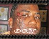 {DON} mane face tat