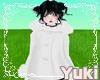 *Y* White Fur Coat