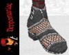 Punk Ankle Boots BLACK