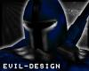 #Evil Blue Stealth Helm
