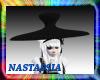 Dark Helmet W/Polka-Dots