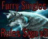 Furry Singles Rules V3