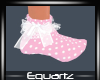 Kids Pink Dotty Socks