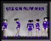 [FCS] Royal Blue Velvet