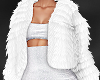 NP. White Fur Jacket