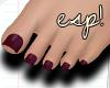 esp! Sweet garnet feet