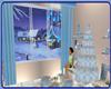 !   BLUE  CHRISTMAS ROOM