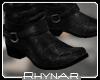 R' Biker Boots black