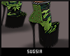 S|Weed Short Boots
