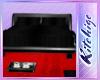 K!t - Black Bed Red Deco