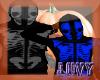 (M)Skully Hoodie Blue