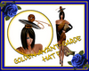Golden Avant-Garde Hat F