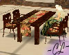 ArtDeco Floral DiningSet