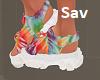 Hippie Sandals-Tye Dye