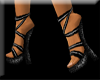 Strapped shoes black
