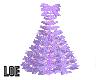 L~ Purple Christmas Tree