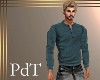 PdT Teal Thermal Henley