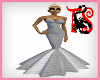 TS Silver Ice Diva Gown