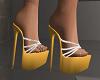 Yellow and Diamond Heels
