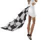 BB* Black n white Tail