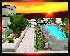 Sunset desert villa