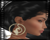 {BC}BabyPhat Gold Hoops