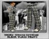 {SL} Black Plaid Pants